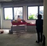 仁安醫院三樓擴建開拜神儀式 21-02-2012