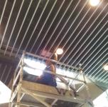 香港中文大學-東華三院社區書院 消防保養工作實況 05-04-2012